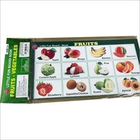 PAPER BOARD BOOK FRUITS AND VEGETABLE