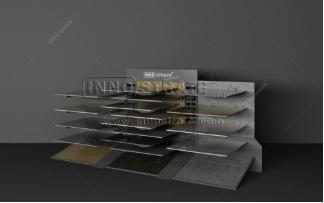 Quartz Stone Display Rack-TO005