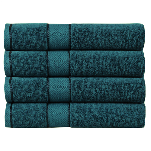 Teal Blue Towel