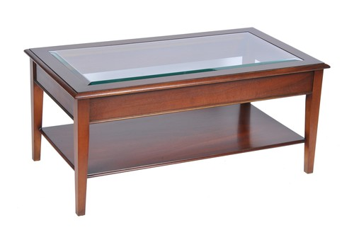 Wooden Rectangular Center Table