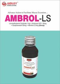 Levosalbutamol sulphate 1mg + Ambroxol Hcl 30mg + Guaiphenesin 50mg + Menthol 2.5mg