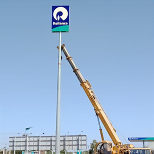 Logo High Mast Pole