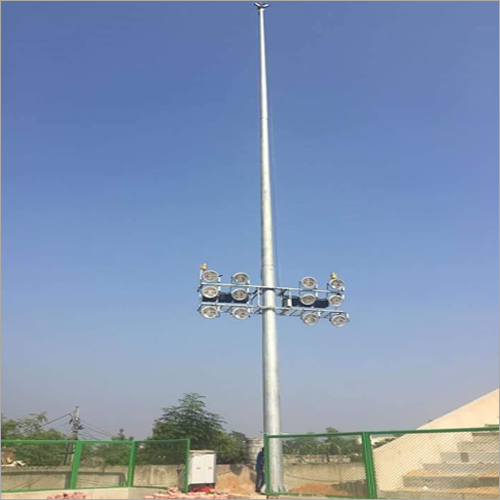 Motorized High Mast Lighting Pole