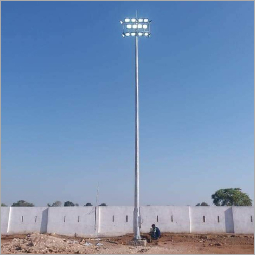 Motorized Stadium Lighting Pole