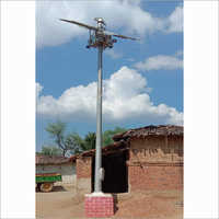 Solar High Mast Lighting Pole