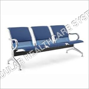 3 Seater Cushioned chair
