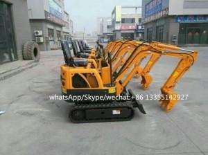 1.0 ton mini excavator from China