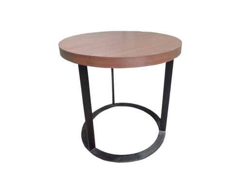 Wood Side End Table