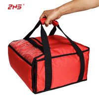 INSULATED HEATED PIZZA FOOD COOLER WARMER BAG HOLD 3 12
