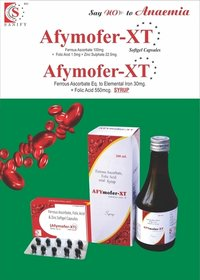 Ferrous Ascorbate + Folic Acid Syrup