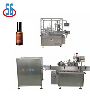 Glass Bottle Essential Oil Filling Machine