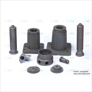 Gears and mechanical screw jack parts