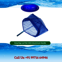 Deep Bag Leaf Net With Aluminium Handle