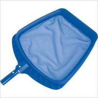 Aluminium Leaf Skimmer With Blue Handle