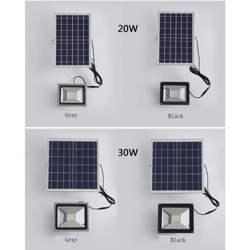 LED Solar Flood Light