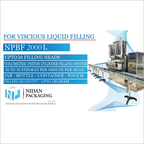 NPMH 2000 Multi Head Liquid Filling Machine