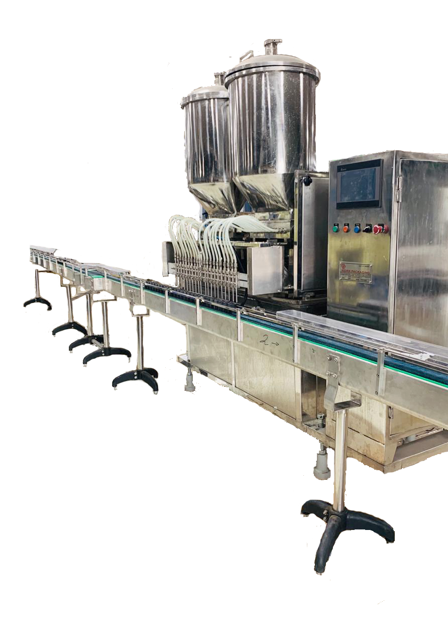 NPMH 2000 Multi Head Liquid Filling Machine