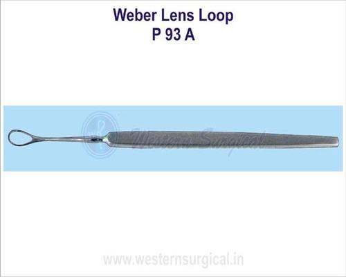 Weber lens loop