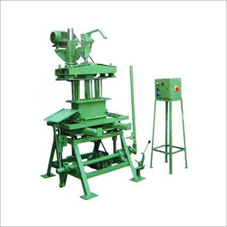 Manual Hollow Block Making Machine