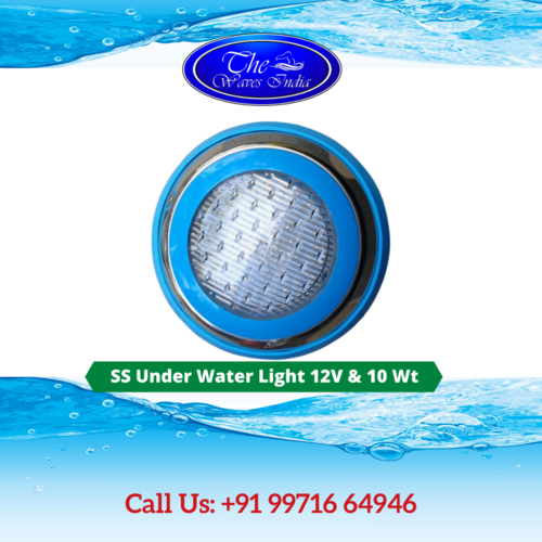 SS Under Water Light 12V & 10 Wt