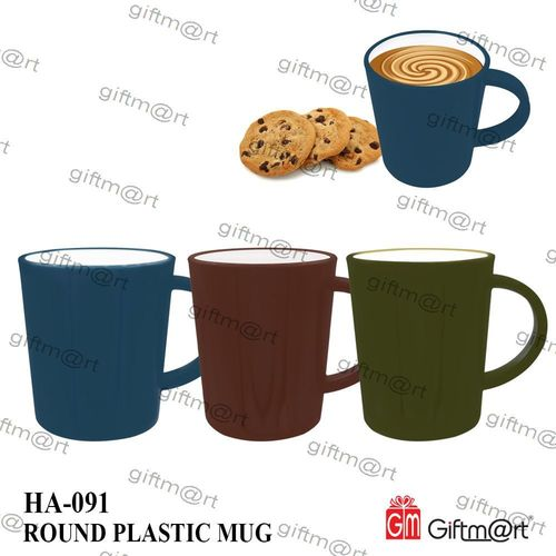 Round Plastic Mug