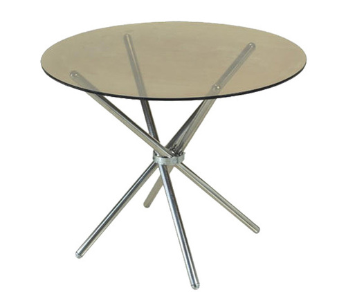 Cross Round Room Table