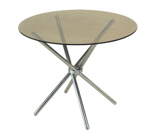 Cross Round Room Table