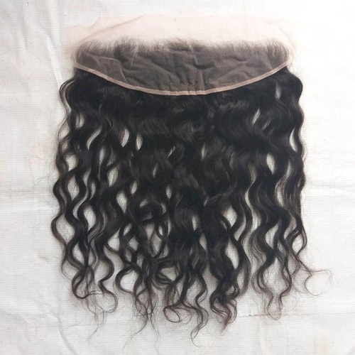 Raw Natural Wavy Frontal,Raw wavy hair 13x4 lace frontal with Remy human hair