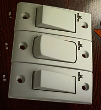 Flush type sockets