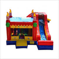 Kids Bouncy Inflatable Slide