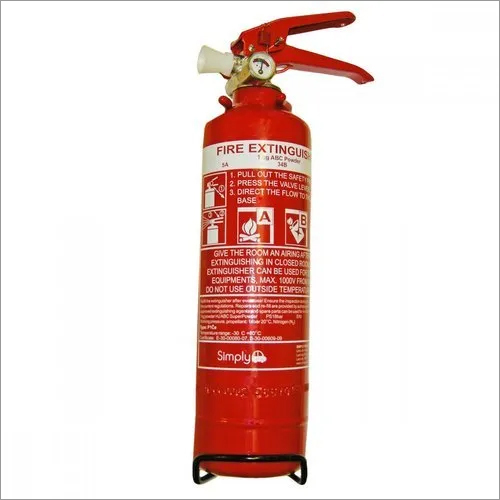 Mild Steel Powder Type Fire Extinguisher