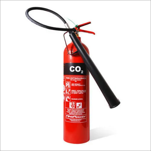 Mild Steel CO2 Type Fire Extinguishers