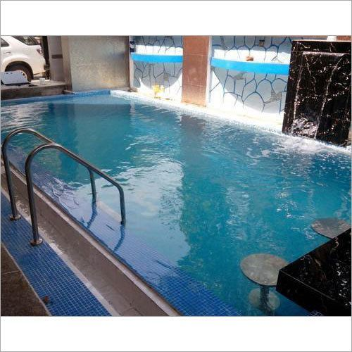 Swimming Pool With Water Fall