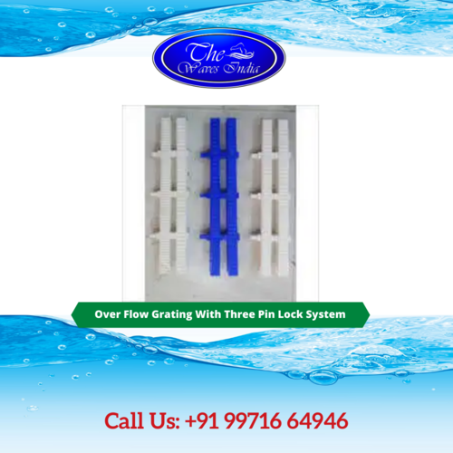 Over Flow Grating With Three Pin Lock System