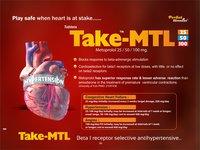 Metoprolol 25 mg, 50 mg & 100 mg