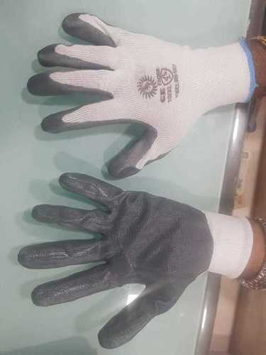 nitrile coated cut resistant hand gloves