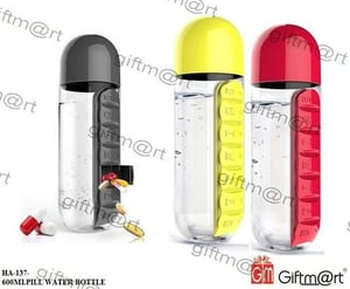 Pill Water Bottle