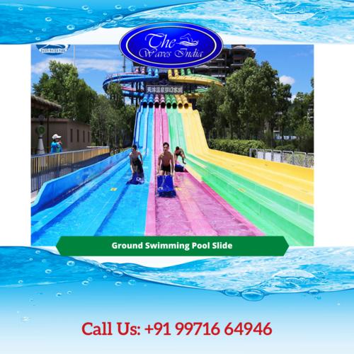 Ground Swimming Pool Slide