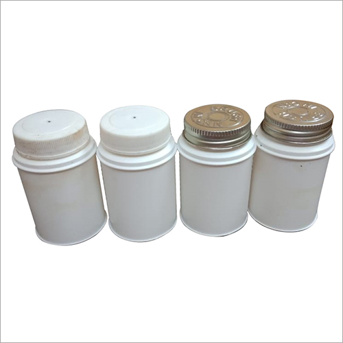 White Packet PVC Solvent Plastic Container
