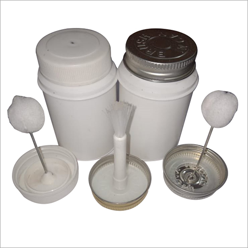PVC Solvent Plastic Container with Bristle Brush