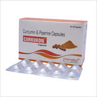 Curcumin And Piperine Capsule