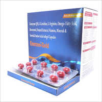 Coenzyme Q10 L Carnitine L Arginine Omega 3 Fatty Acid And Essential Amino Acids Softgel Capsule
