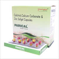 Calcitriol - Calcium Carbonate And Zinc Sofgel Capsule