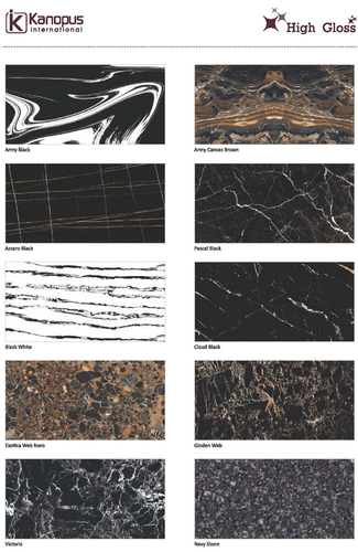 Black Floor Tiles