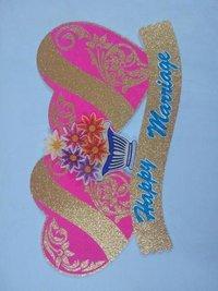 Wedding heart decorative articale