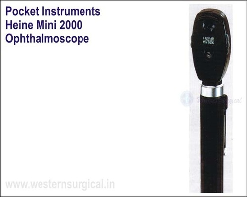 Pocket Instrument - HEINE mini 2000 Opthalmoscope