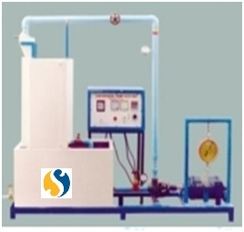 Centrifugal Pump Test Rig (Multi Stage, Variable Speed, Series & Parallel)