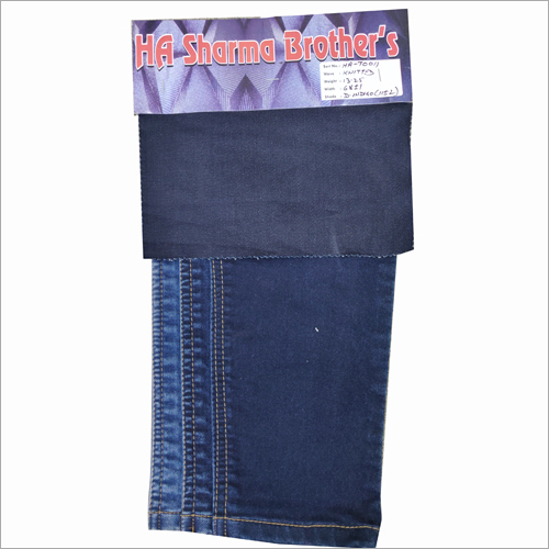 Back Knitted Denim Fabric