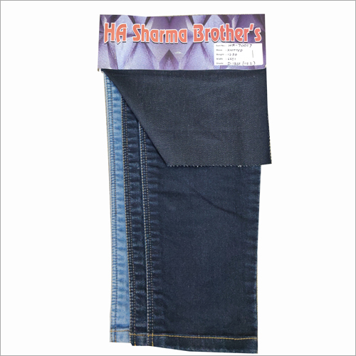 Designer Knitted Denim Fabric