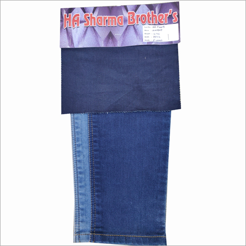 Mens Kintted Denim Fabric